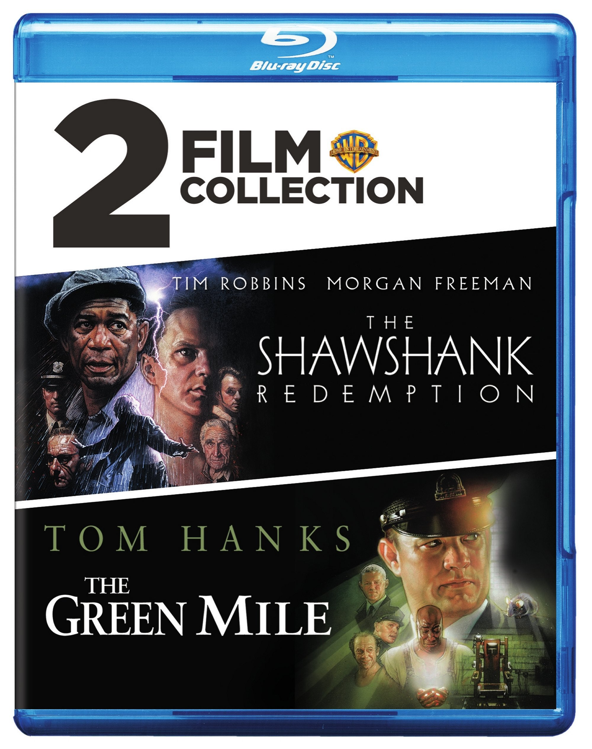 Blu-ray : The Shawshank Redemption / The Green Mile (2 Pack, 2PC)