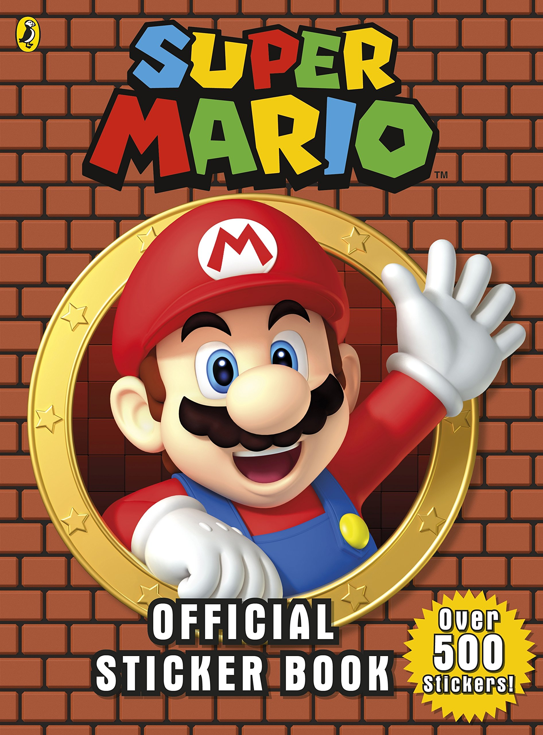 Super mario official sticker book paperback 4 jan 2018