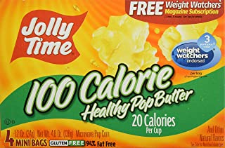 product image for Jolly Time Microwave Pop Corn Healthy Pop Butter 100 Calorie 4-pk