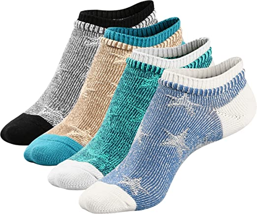 6 Pairs Lot Mens Assorted Colors Cotton blend Comfy Casual Ankle Low-cut Socks
