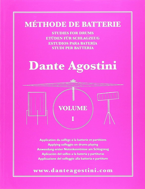 Méthode de batterie - Volume 1 Agostini Dante Carisch Musicom