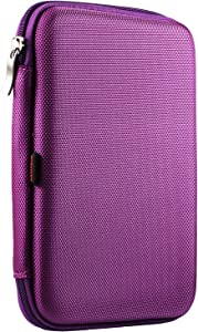 Navitech Purple Hard Protective EVA Case Cover Compatible with The Acer ICONIA B1-790-K732 7-Inch Tablet
