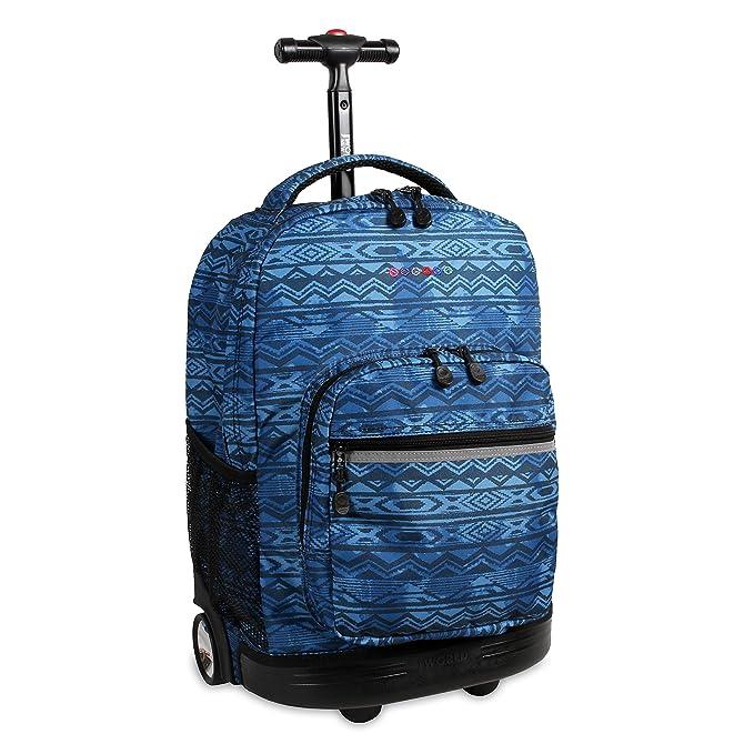 191f134863 J World New York Sunrise Rolling Backpack Backpack, WATER MARK ...