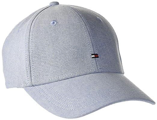 557c3313 Tommy Hilfiger Men's Bb Cap Baseball, Blue (Chambray Blue 408), One (Size:  OS): Amazon.co.uk: Clothing