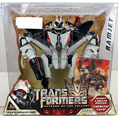 Hasbro Transformers 2: Revenge of the Fallen Exclusive Action Figure Ramjet: Toys & Games [5Bkhe1005021]