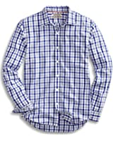 Goodthreads Men's Slim-Fit Long-Sleeve Checked Shirt