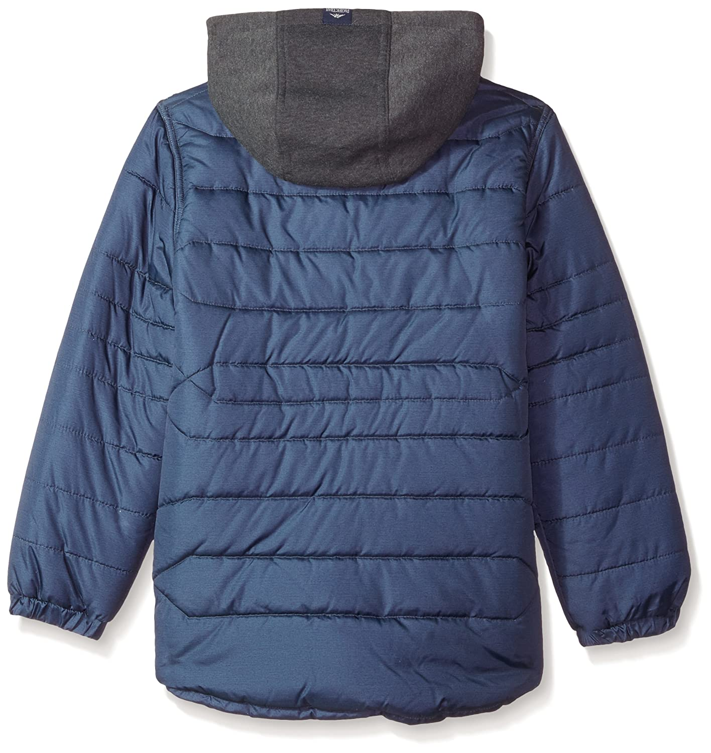 269a84a63 Amazon.com  Pacific Trail Boys Heathered Puffer Jacket  Clothing