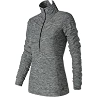 New Balance Women's In Transit Half Zip Shirt