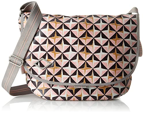 Whoopy Geometrical Shoulderbag Svz, Womens Shoulder Bag, Pink (Rose), 7x22x31 cm (B x H T) Oilily