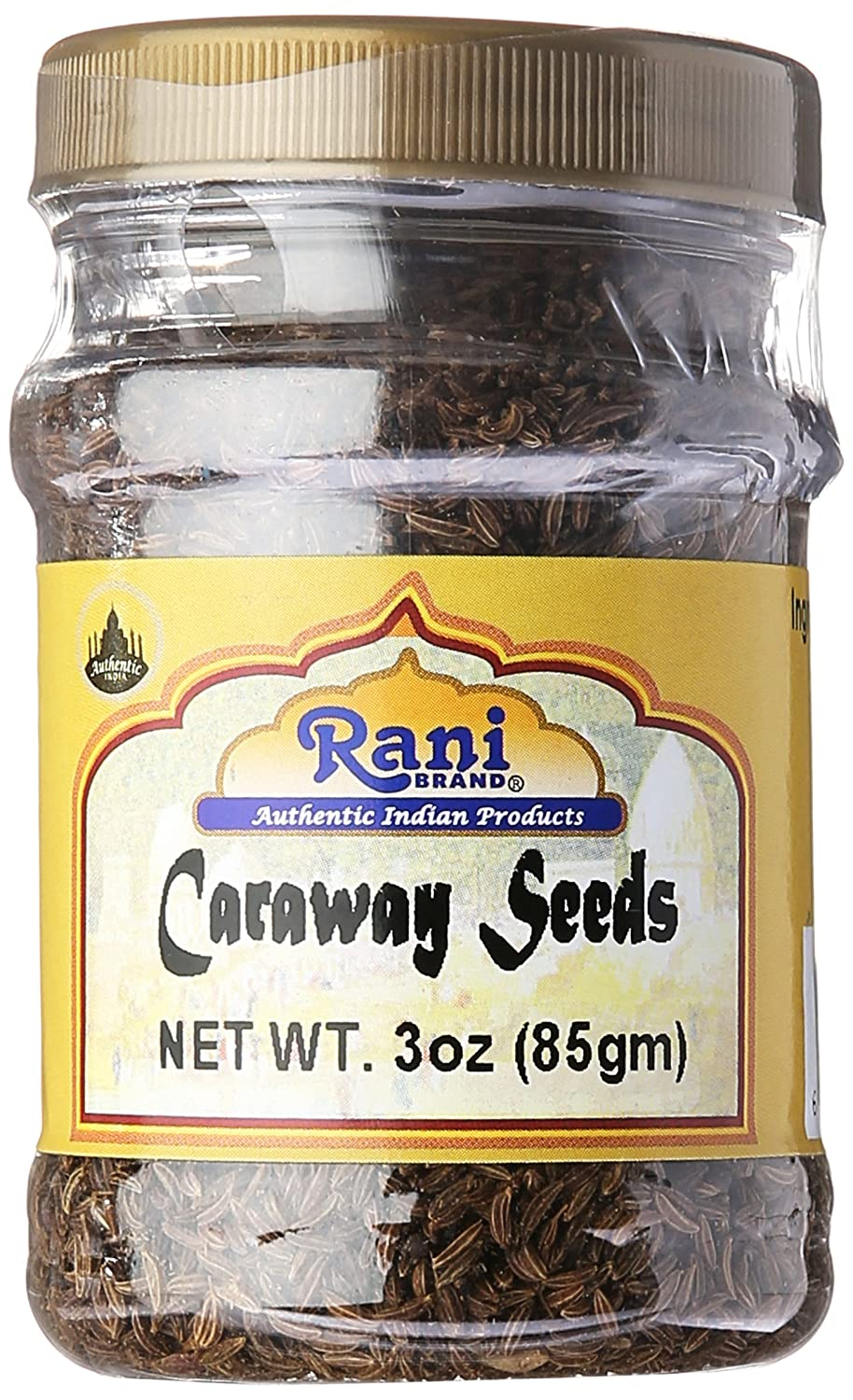 Rani Caraway Seeds (Siya Zeera) Spice 3oz (85g) Natural ~ Gluten Free Ingredients | NON-GMO | Vegan | Indian Origin