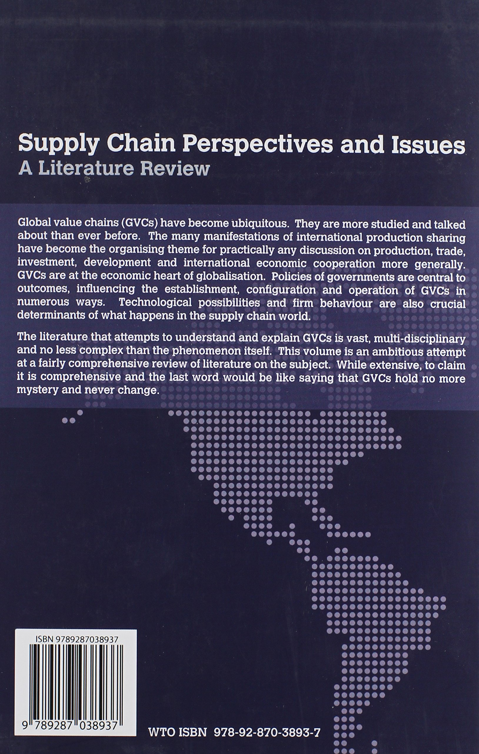 supply chain perspectives and issues a literature review