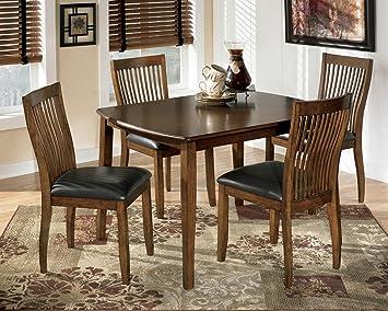 Amazon.com - Ashley D293-225 Stuman Rectangle Dining Room Table ...