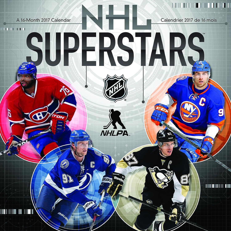SUPERSTARS Crosby Stamkos uvm Kalender Wandkalender NHL Eishockey 2017 Turner Licensing