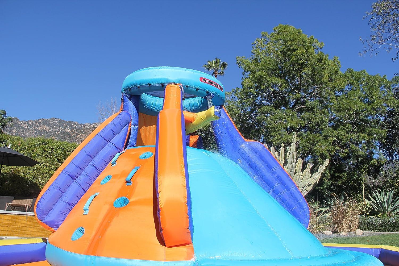 amazon com sportspower battle ridge inflatable water slide toys