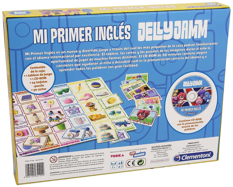 Jelly Jamm - Mi primer inglés, juego educativo con CD (Clementoni 65100): Amazon.es: Juguetes y juegos