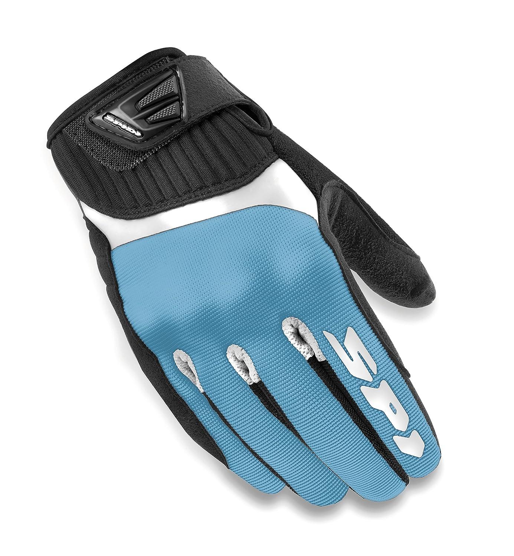 Schwarz//Wei/ß XS SPIDI Damen Motorrad Handschuhe G-Flash
