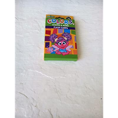 Sesame Street Colors, Shapes & More Flash Cards 2015: Toys & Games