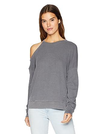 03f6da9ab2af9 Amazon.com  Splendid Women s Long Sleeve Thermal Cold Shoulder  Clothing
