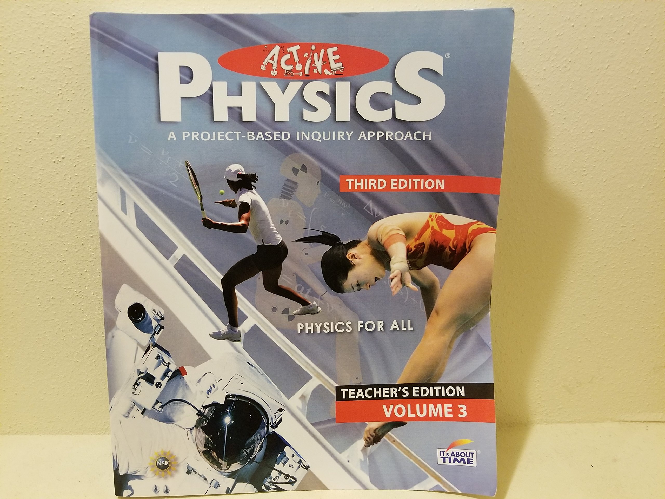 Read Online Active Physics a Project Based Inquiry Approach Teacher Edition (volume 3) pdf epub