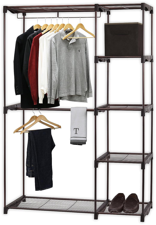 Simple Houseware Freestanding Cloths Garment Organizer Closet, Bronze EP Family Corp. BO-018-2