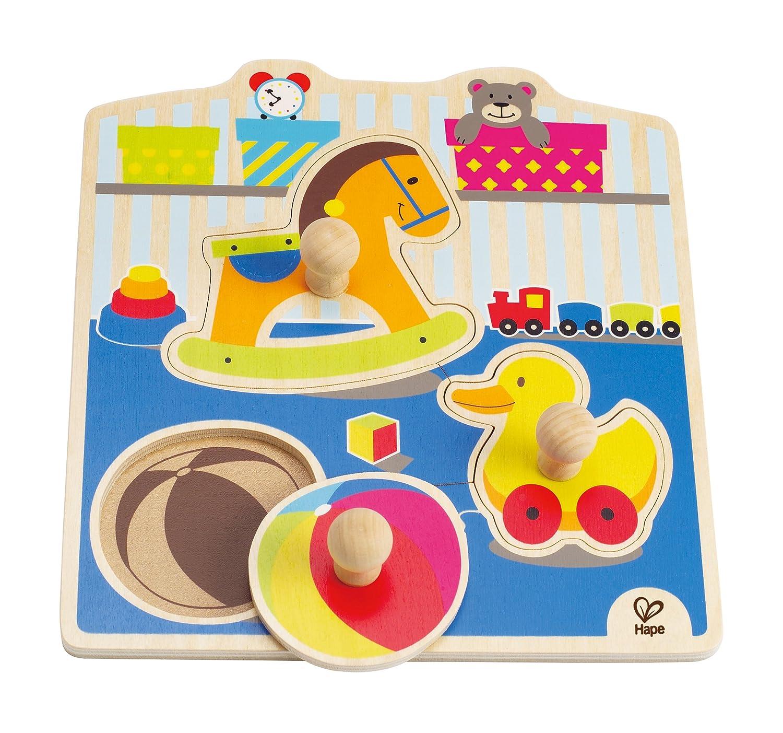 Hape E1301 - Puzzle con Pomello I Miei Giochi