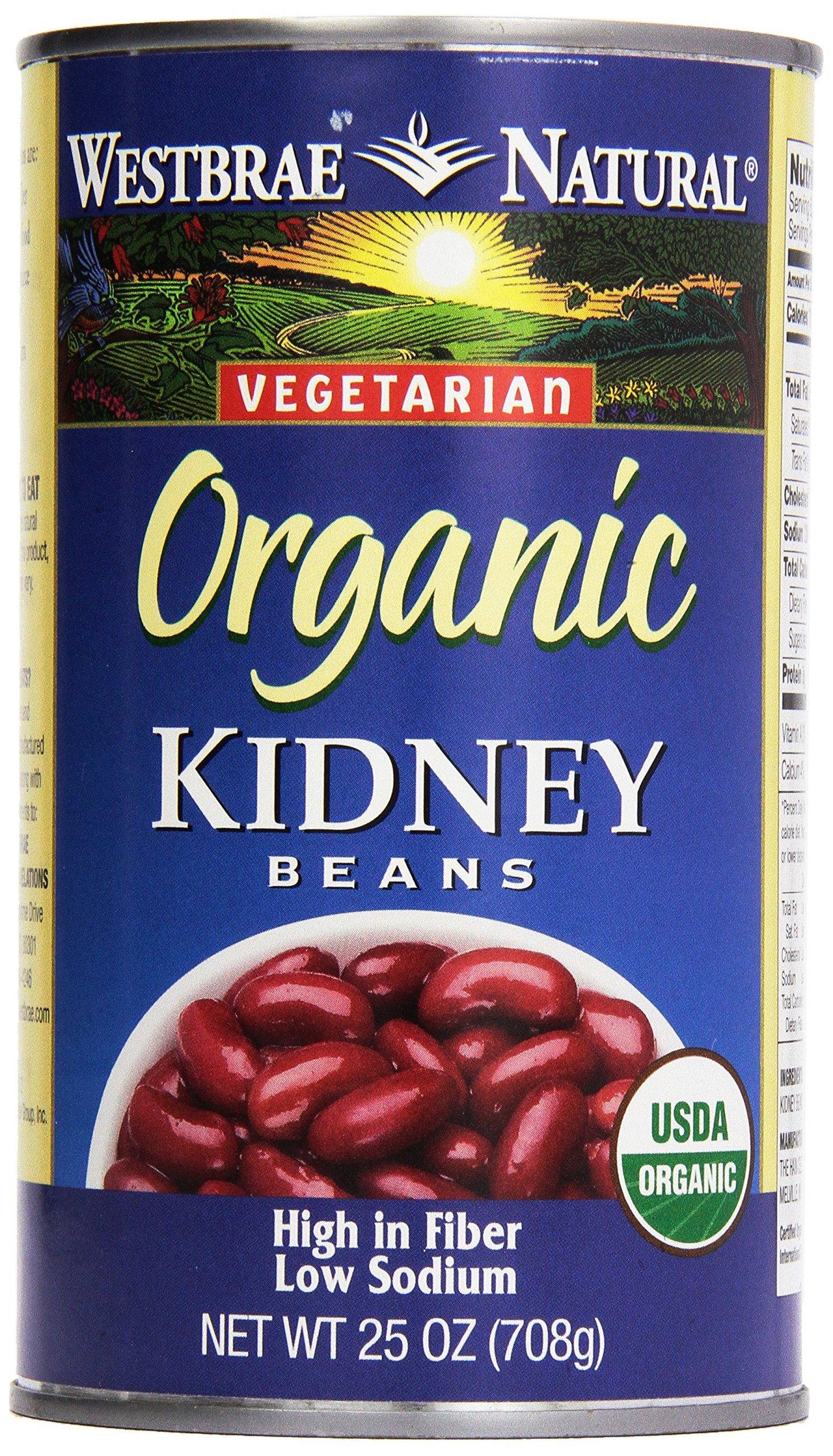 Westbrae, Natural Kidney Beans, 25 oz