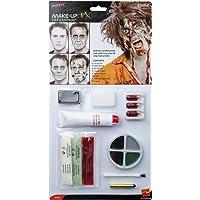 Smiffys 39094 Déguisement Adulte Kit de Zombie, Naturel, Taille Unique