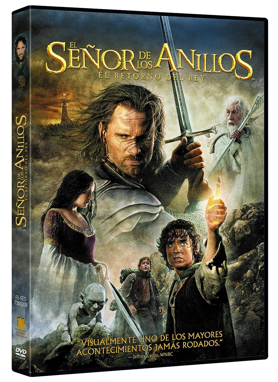 El Señor De Los Anillos: El Retorno Del Rey Ed. Cinematográfica [DVD]