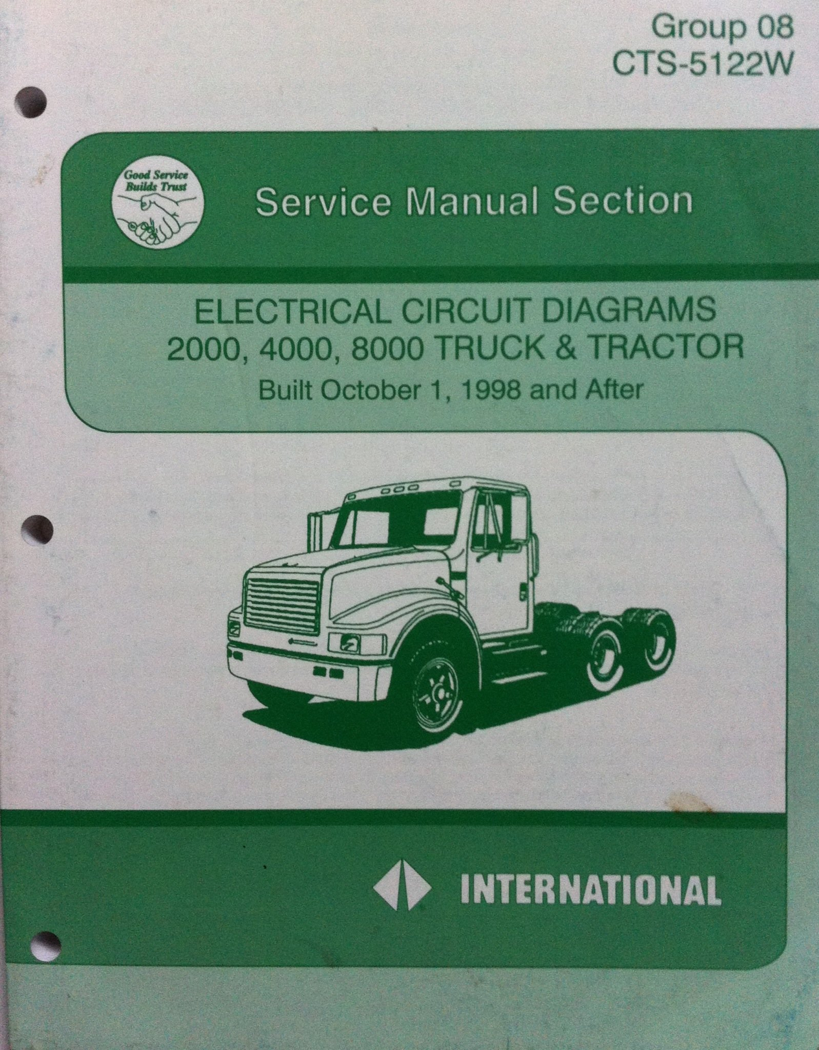 Diagram Of 2000 International Truck | Wiring Diagram on