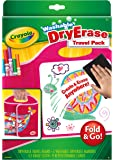 Crayola, Washable Dry-Erase Travel Pack, Fold & Go, Art Tools, Great for Travel