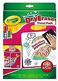 Crayola Washable Dry-Erase Travel Pack, Fold & Go