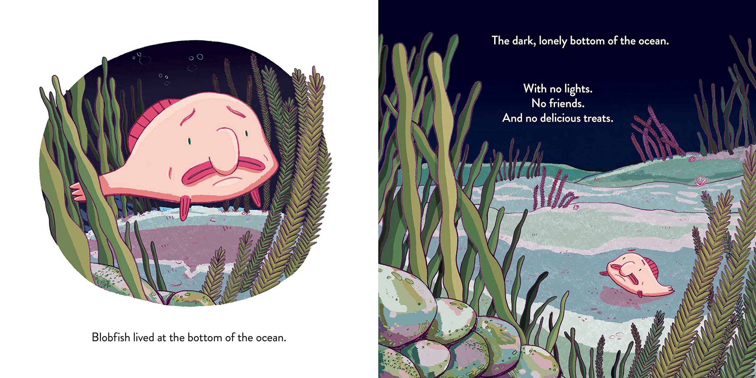Pics Of Blobfish | Blobfish Throws A Party Miranda Paul Maggie Caton 9781499804225