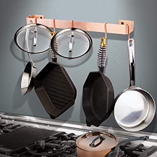 """product image for Enclume Handcrafted 36"""" Wall Rack Utensil Bar w 6 Hooks Brushed Copper"""
