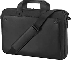 """HP 1KM15AA Executive Midnight Top Load Notebook Carrying Case 15.6"""", Black/Gray"""