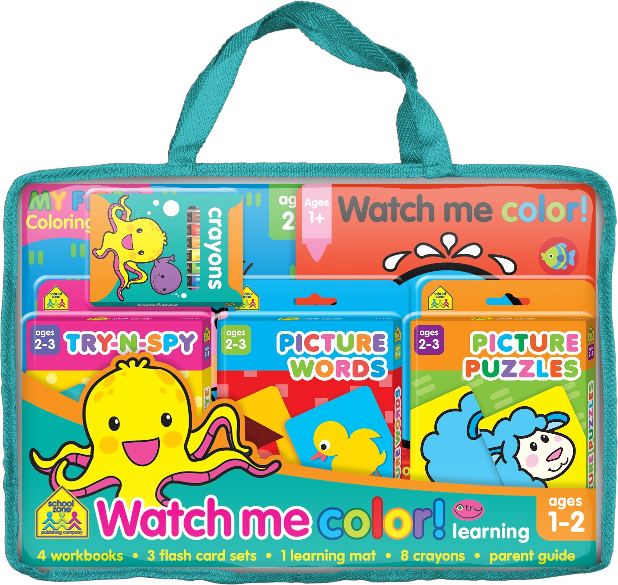 Watch Me Color! Learning Pack pdf epub