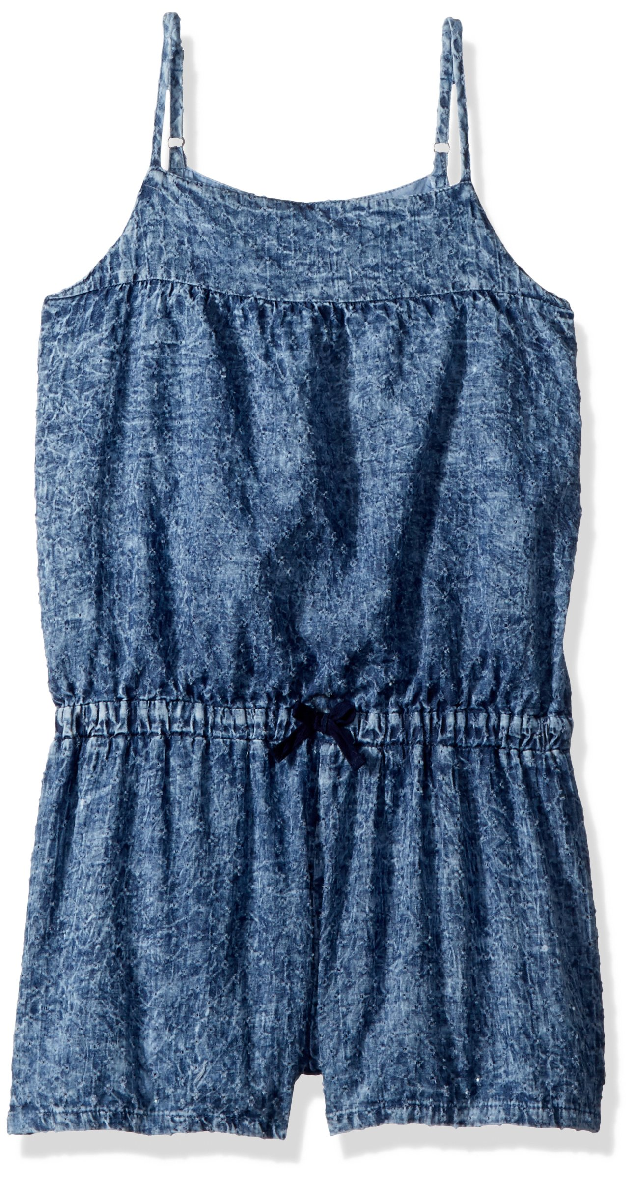 Lucky Brand Big Girls' Romper, Ryder Wash Daylan, Large (12/14)