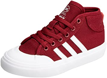 in stock 1bf71 a886b adidas Matchcourt Mid J - Chaussures Sportives pour Enfant, Bordeaux .