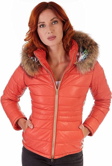 D'Arienzo Ladies • Couleur Orange • Doudoune Femme avec