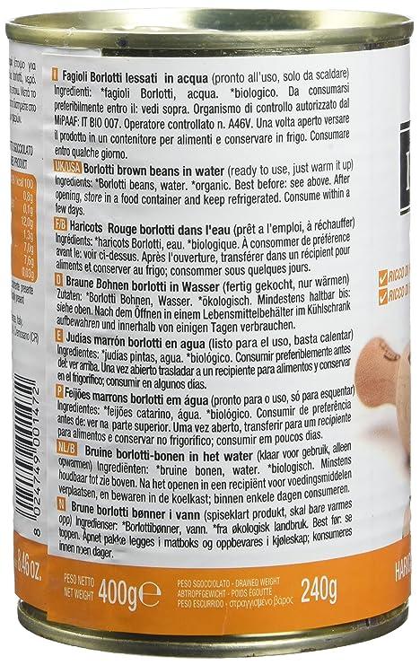 Probios Il Nutrimento Fagioli Borlotti Al Naturale 12 Confezioni