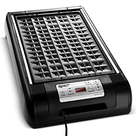 Amazon Com Magic Mill Electric Smokeless Grill And Griddle Pan For