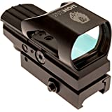 Tactical Green / Red Dot Sight Scope W/ Casing By LionTac | Reflex Sight W/ Quick Disconnect Mount | Multi Reticle| Easy To Install| Top Grade Spotting Scopes, Gun Parts & Custom Accessories