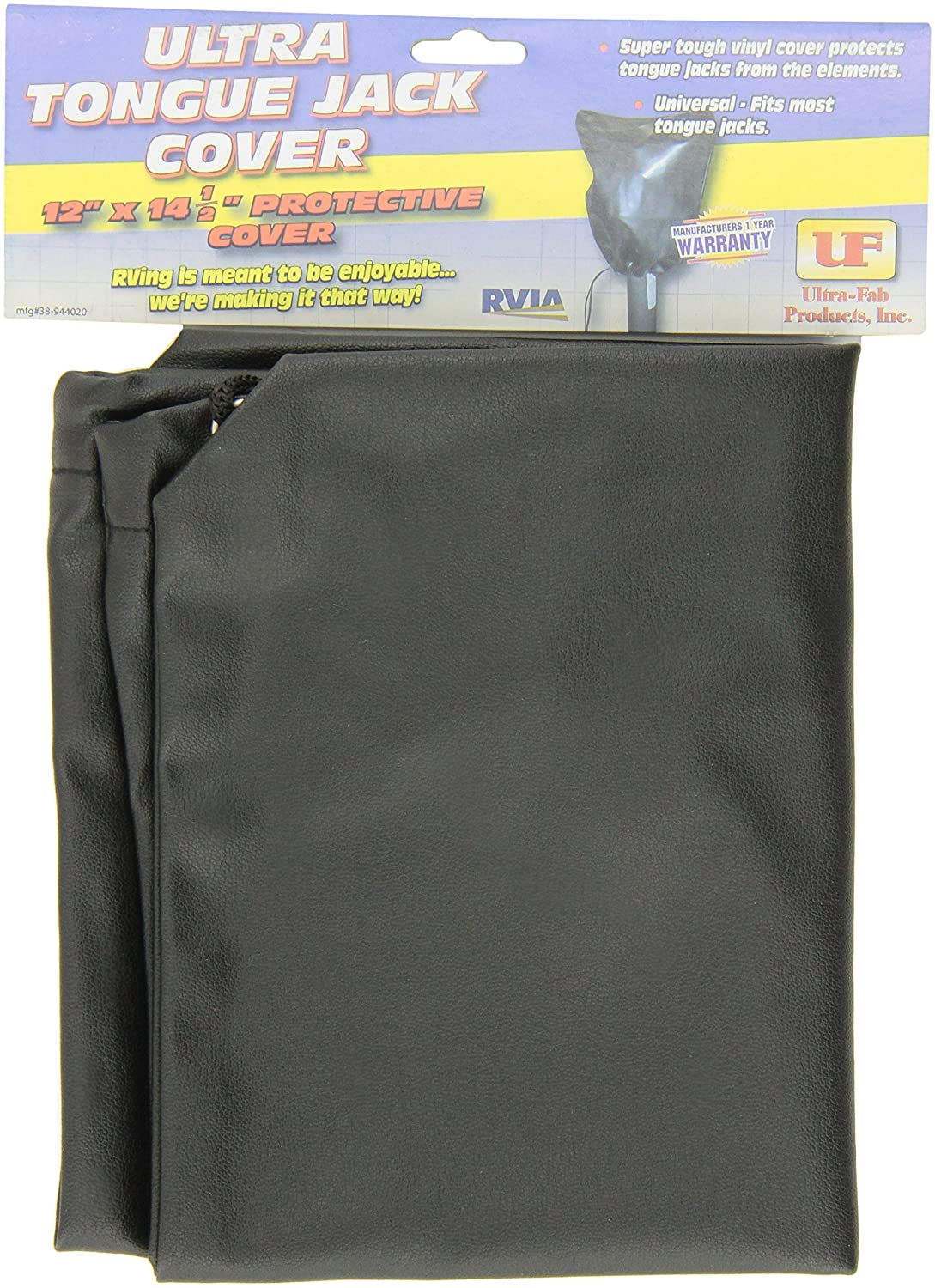 Ultra Fab Products 38-944020 Vinyl Black Power Head Jack Cover with Draw String Ultra-Fab Products