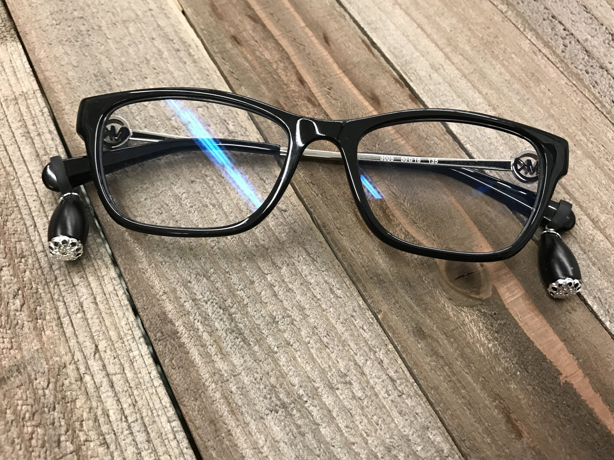 Eyeglasses Hurt? Lifts Glasses Off Nose! Two Pairs Of Eyeglass Accessories PLUS FREE Ear Cushions (Prevents Nose Dents & Slipping) Eyeglass Jewelry. Sunglasses Accessories
