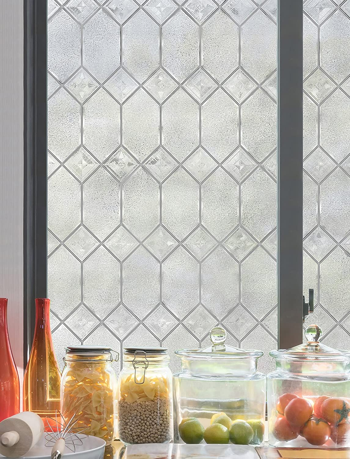 ARTSCAPE Old English 24 in. X 36 in. Window Film, 24-by-36-Inch