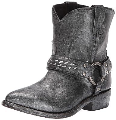 1283f2bbba5 FRYE Women s Billy Chain Short Western Boot Black Multi 5.5 ...
