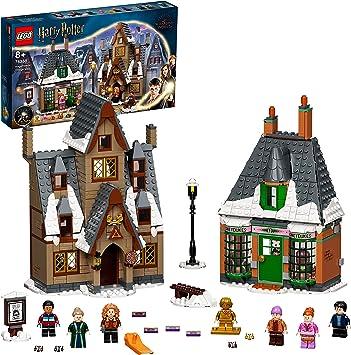 Lego 76388 Harry Potter Besuch In Hogsmeade Spielzeug Ab 8 Jahre Set Zum 20 Jubiläum Mit Ron Als Goldene Minifigur Amazon De Spielzeug