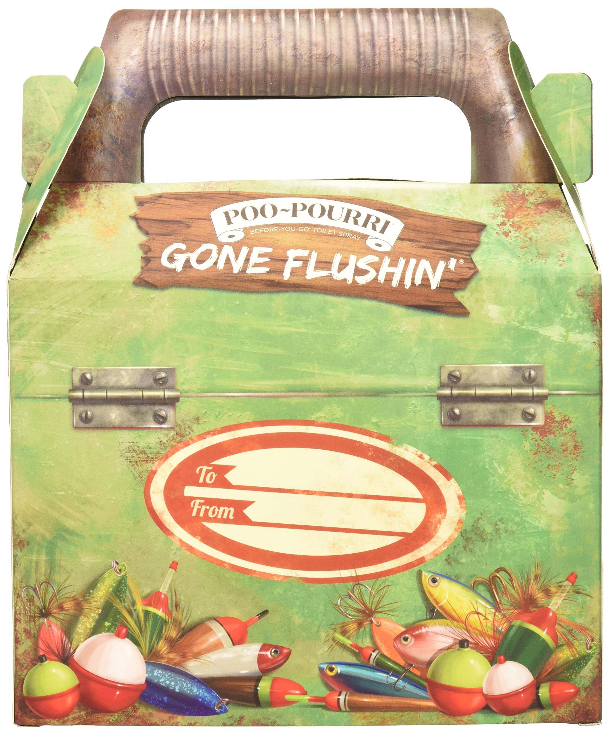 Poo-Pourri Gone Flushin Before You Go Toilet Spray Gift Set in Tackle Box by Poo-Pourri (Image #2)