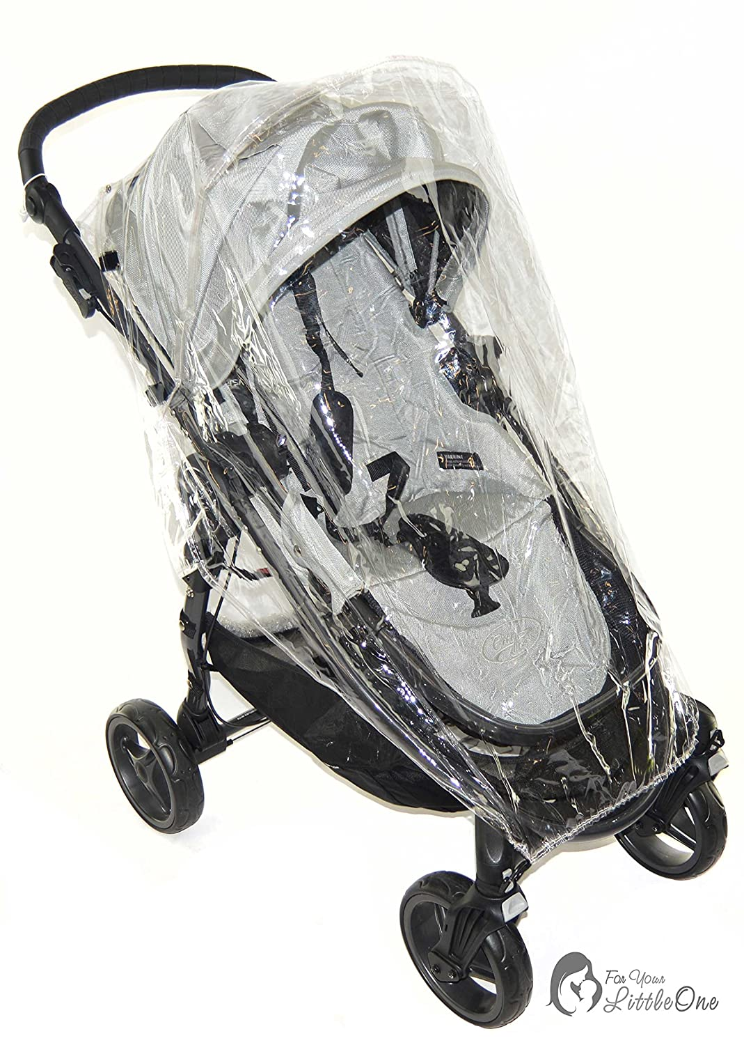 Parapioggia compatibile con Baby Jogger City mini passeggino