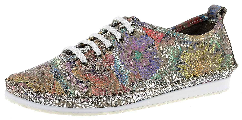 Andrea Conti 0021570 - Zapatillas Mujer 39 EU|Beige