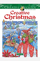 Creative Haven Creative Christmas Coloring Book (Adult Coloring) Paperback